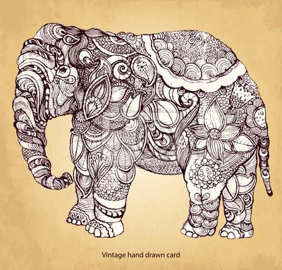 Dekoracyjne elephant