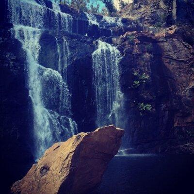 Fototapeta Der Wasserfall