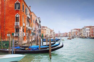 Fototapeta Deszczowy dzień w Wenecji, Włochy
