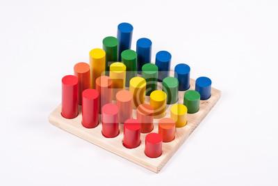 Fototapeta Materiały Edukacyjne Montessori Matematyka Na