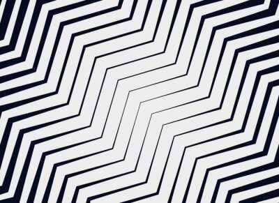 Fototapeta diagonal zigzag vector pattern background