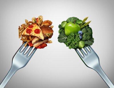 Fototapeta Diet Struggle