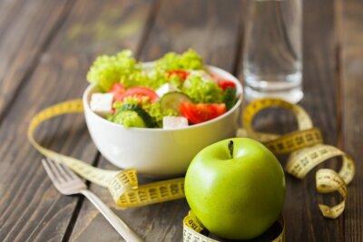 Fototapeta Dieta, diety, zdrowie.