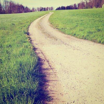 Fototapeta Dirt  Road
