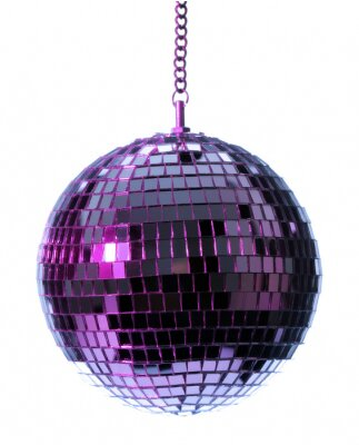 Fototapeta discoball