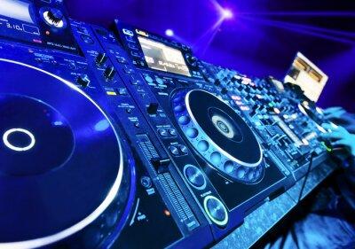 Fototapeta DJ gra utwór