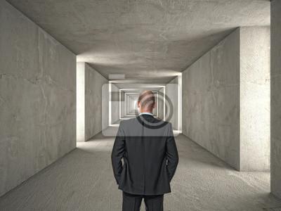 Fototapeta długi tunel