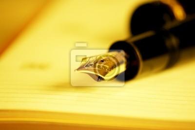 długopis i notatnik