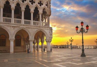 Fototapeta Doge palace, Venice, Italy