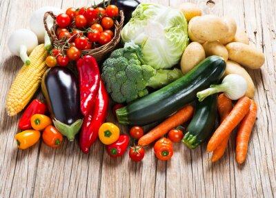 Fototapeta Dojrzałe, świeże warzywa