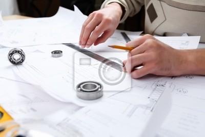 Fototapeta Dokumenty projektu budowlanego