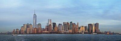 Fototapeta Dolny Manhattan panorama