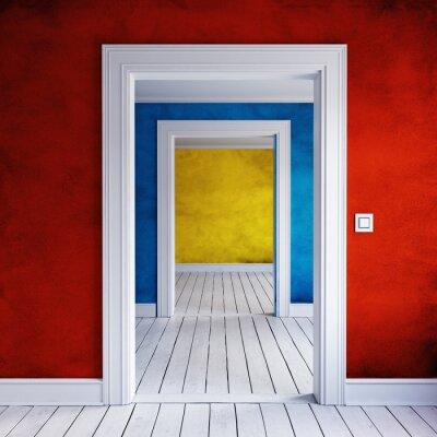 Fototapeta dom drzwi wewnętrznych