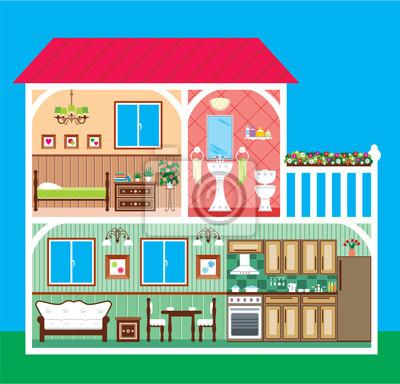 Dom w przerwie