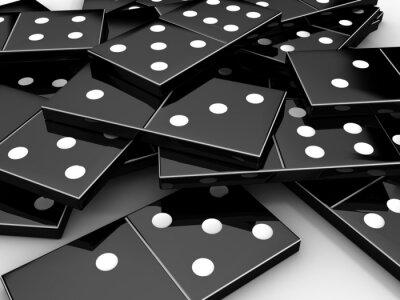 Fototapeta domino