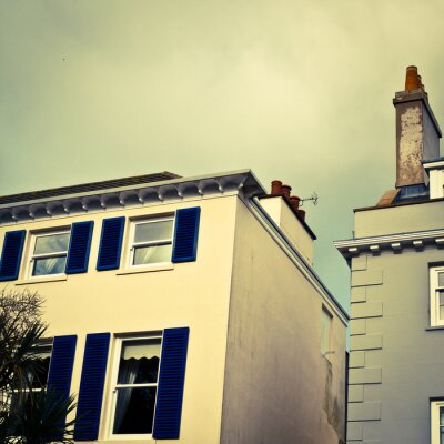 Fototapeta Domy Guernsey