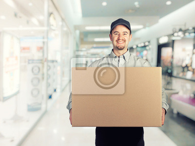 Fototapeta dostawca