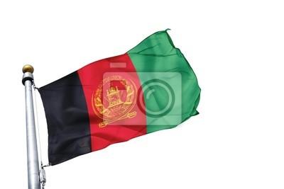 drapeau Afganistan