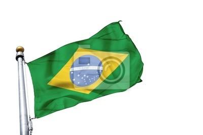 Fototapeta drapeau brésil