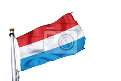 Fototapeta drapeau Luksemburg