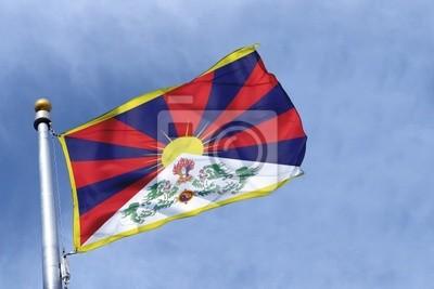 Fototapeta drapeau Tybet