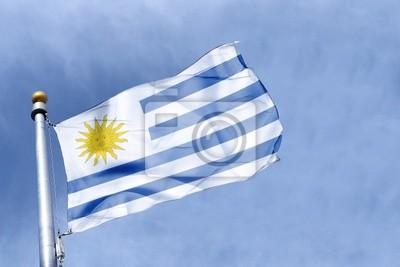 drapeau Urugwaj