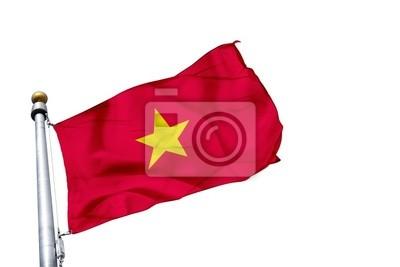 Fototapeta drapeau Wietnam