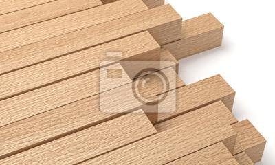 Fototapeta drewniane belki