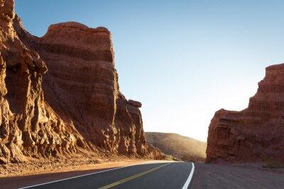 Fototapeta Droga przez kaniony