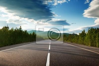 Fototapeta Droga w górach