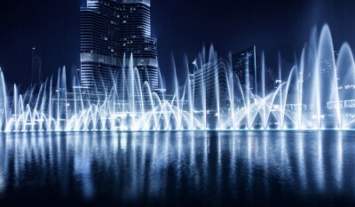 Fototapeta Dubai fontanna