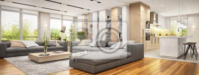 Fototapeta Duży apartament