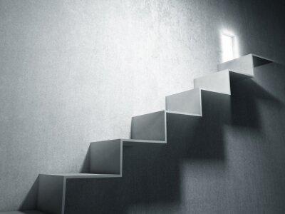 Fototapeta duży krok do sukcesu