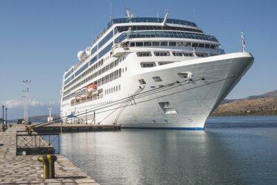 Fototapeta Duży statek wycieczkowy