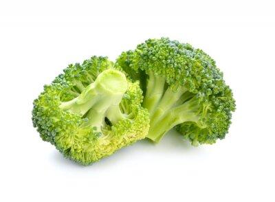 Fototapeta Dwa kawałki brokułów