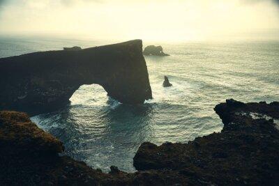 Dyrhólaey Arch, Islandia