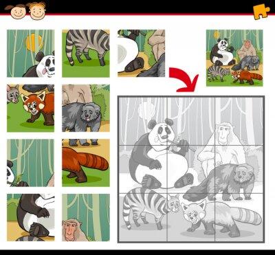Fototapeta dzikie ssaki Jigsaw Puzzle Game