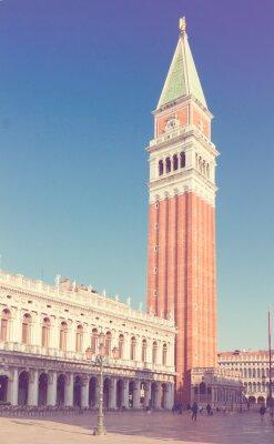 Fototapeta Dzwonnica San Marco, Wenecja