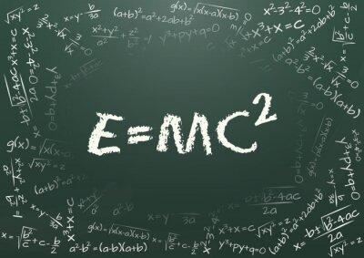 Fototapeta e = mc2