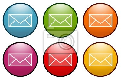 Fototapeta E-mail koperta list