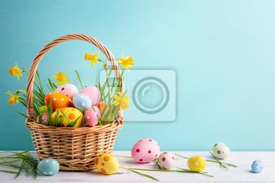 Fototapeta Easter decoration