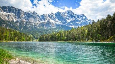 Fototapeta Eibsee Zugspitze