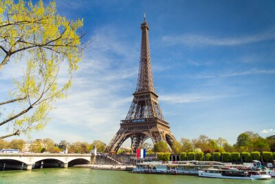 Fototapeta Eiffelturm im Sommer