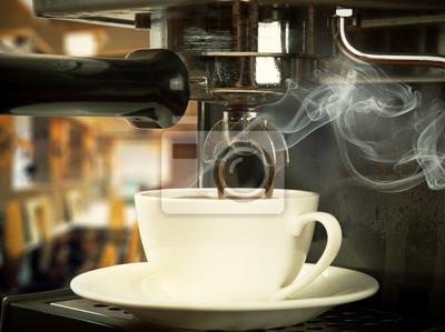 ekspres do kawy z filiżanki
