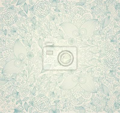 Fototapeta Elegancja tle kwiatów