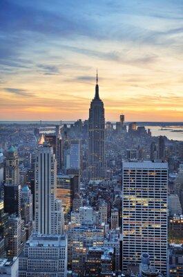 Empire State Building zbliżenie