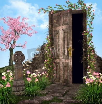 Fototapeta Enchanted Garden ilustracji