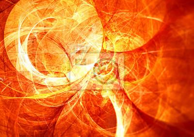 Energia słoneczna. Abstrakcyjna świecące futurystyczne rozmyte tło z mocą oświetlenia dla kreatywnego projektowania. Błyszczący jasny obraz kolorowy dla tapety pulpit, plakat, okładka, ulotka. Sztuka