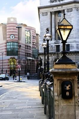 Fototapeta Entrance to Bank tube station in London