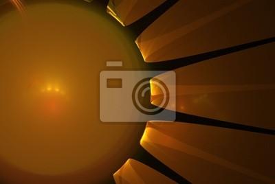 Fototapeta Erupcja słońce